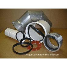 Junta de goma para tubería de PVC