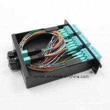 MPO conector de cinta de fibra óptica (24core)