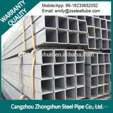 Hohlquadrat Stahlrohr / Vierkant Stahlrohr