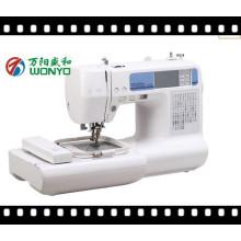 Wonyo 2016 nueva máquina de bordado automatizado bordado y máquina de coser