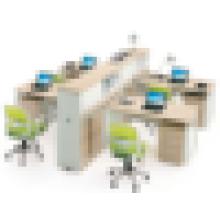 Moderno mobiliario de oficina de aluminio de partición de trabajo de perfil
