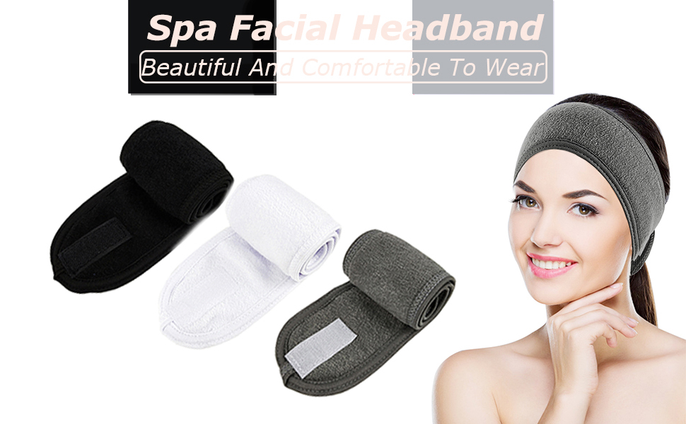 facial spa headband