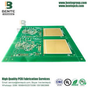 "IT180 Prototype PCB 2 Layers PCB ENIG 3u ""BentePCB"