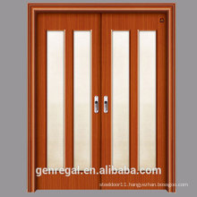 CHEAP HDF melamine HDF slide wood door