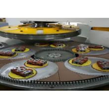 Rectificadora de superficie de doble disco para piezas de cilindro
