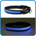 Rechargeable Led Flashing Pet Dog Collars For Christmas