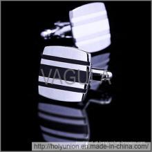 Designer de botões de punho de homens VAGULA abotoaduras Hlk31607-2