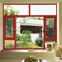Aluminum Thermal Break Casement Screening Netting Window (FT-W135)