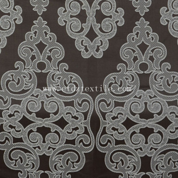 New Vivid Design Curtain Fabric Chocolate GF024-4
