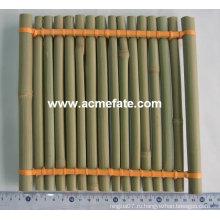 Бамбуковые изделия круглые бамбуковые пластины бамбуковые корзины