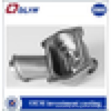 Kundenspezifische hochwertige Ventil Karosserieteile Stahl Präzisionsguss