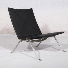 Moderne Replik Poul Kjarholm PK22 Lounge Chairs