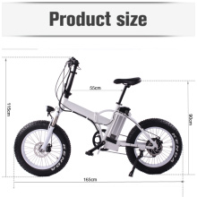 MOTORLIFE / OEM novo modelo 20 '' * 4 gordura do pneu dobrável bicicleta elétrica, pedel elétrico alimentado ciclos de 27 velocidade