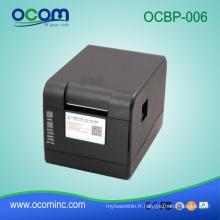 OCBP-006: Imprimante de code barres de la Chine pour imprimer des autocollants, machine d'impression d'autocollant à vendre