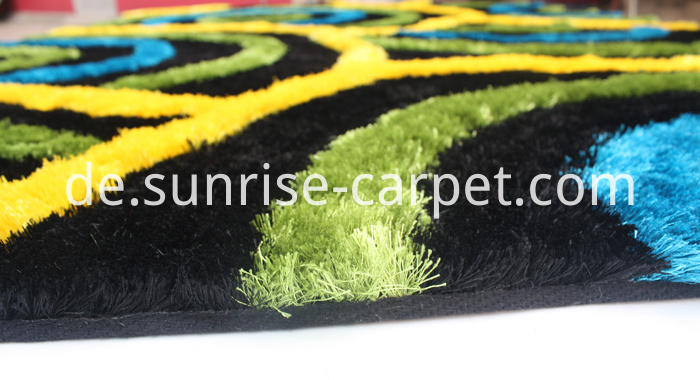 Polyester Thin Yarn with 3D design