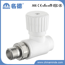 PPR 180 Radiator Stop Valve for Building Materials