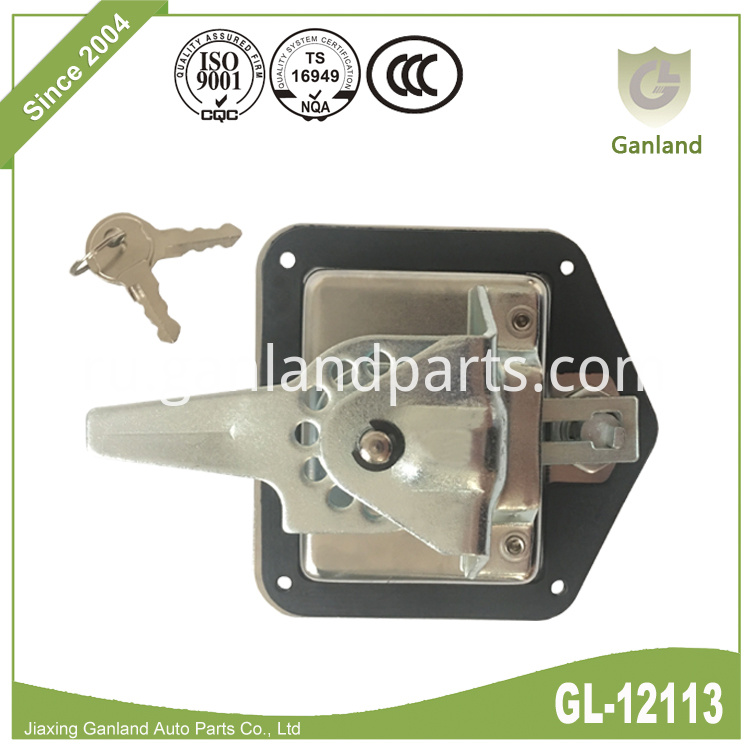 T Paddle Handle Lock with Key GL-12113Y6