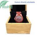 Mode-Armbanduhr aus Holz Uhr Herren Damen Quarzuhr