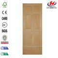 6-Panel Right-Hand Fir Single Prehung Interior Door