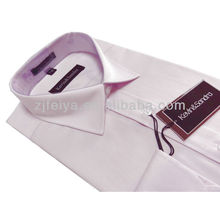 New Arrival Non-Iron Traditional Fit Spread Collar French Cuff Broadcloth Alternating Stripe Dress Shirt
