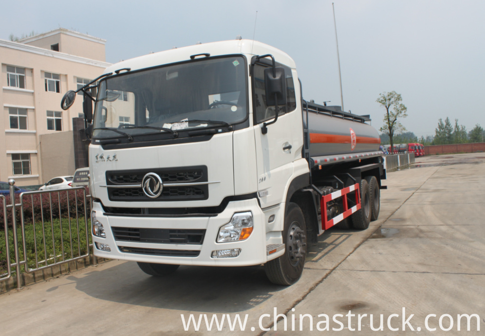 Dongfeng 6x4 chemical tank truck