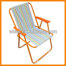 600D polyester camping arm chair