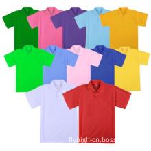 Custom Sublimation Printing Polyester Polo Neck Tee Shirt