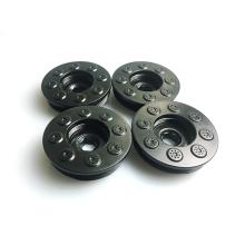 Fabricación profesional piezas de moldeo por inyección de plástico ABS para auto