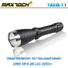 Maxtoch TA5Q-11 18650 Réflecteur profond longue portée Q5 lampe de poche