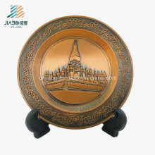 High Quality Factory Bronze Custom Veitnam Metal Souvenir Plate