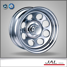 17 inch chrome steel wheels 4x4 rims for suv 2016