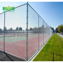 Diamond galvanized chain link fence