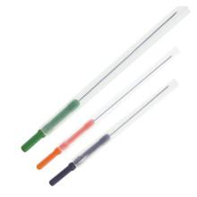 Aiguille d'acupuncture de poignée en plastique avec tube