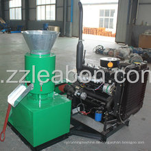 Diesel Motor Driven Flat Die Holz Pelletizer