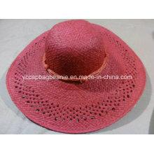 2015 Лучшие дешевые соломы Стильные Ladisessummer Необычные бумажные шляпы