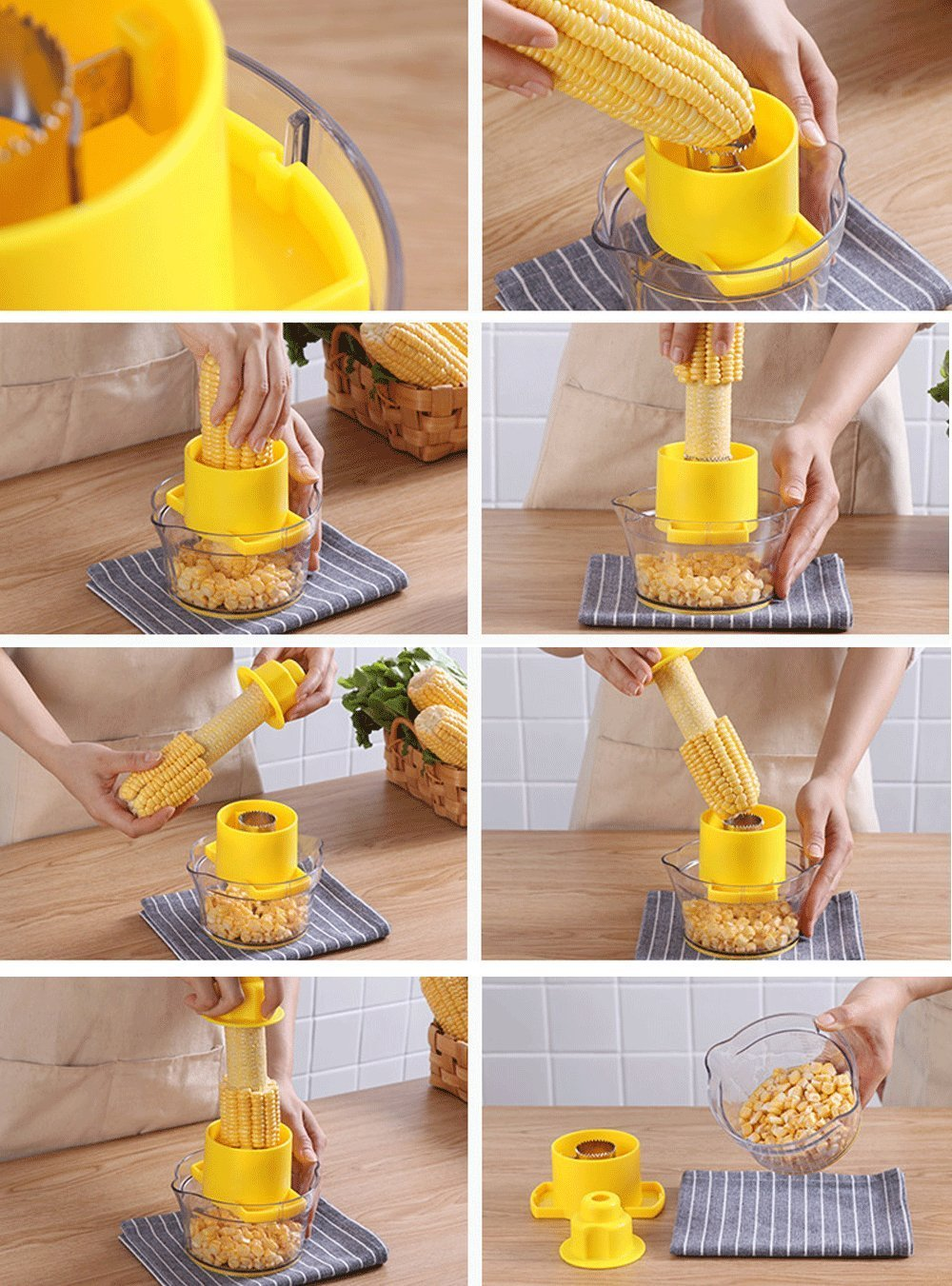 Multifunction Corn Stripper
