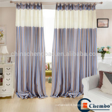 Simply striped design medical office curtains