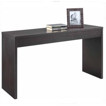 Table console étroite et étroite en noyer