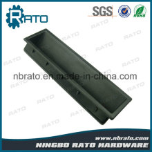 140 mm Black ABS Plastic recessed Pull Handle