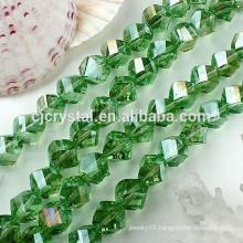 precious gemstone coral twisted beads