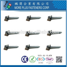 Made in Taiwan M2.5X6 Stainless Steel Big Head Shoulder with Washer Self Tapping Screw