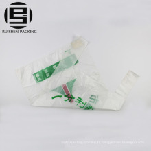 Oxo biodégradable imprimé t-shirt en plastique sacs