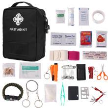 Kit de primeros auxilios al aire libre Kit de emergencia para acampar