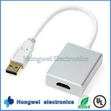 High Speed USB3.0 bis 1.4HDMI Adapterkabel mit Treiber und Dienstprogramme