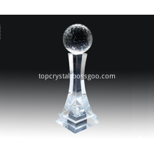 Crystal Golf Ball with base