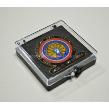 Plastic Gift Box with Enamel Badge
