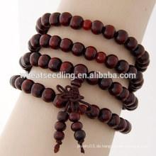 Großhandel billig Holz Perle Armband