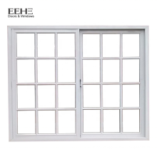 China Manufacturer Kenya Aluminum Sliding Window with Security Bars