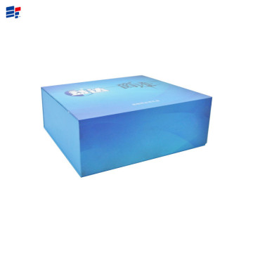 Blue book shape toy gift box