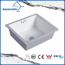 Évier en céramique de sous-sol de salle de bain (ACB1602)